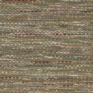 Custom handmade rug by Montagne Handwoven. Flat weave rug in greens, blues, greys with laid-in color detail