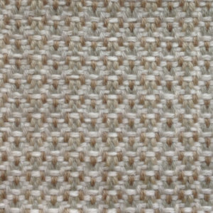 Custom handmade rug by Montagne Handwoven. Chevron twill rug in cream, gold, green, and white