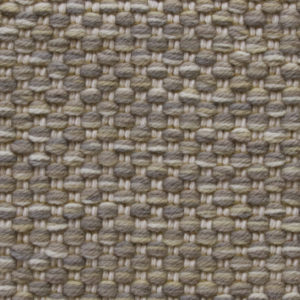 Custom handmade rug by Montagne Handwoven. Texture Weave pattern rug in grey and gold